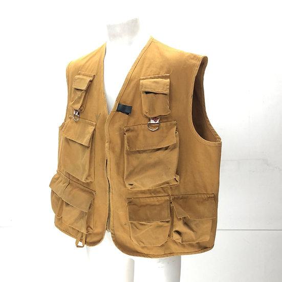 old columbia tool vest / BRN