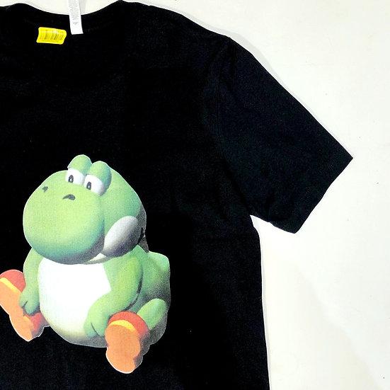 太ってるヨッシー S/S T-shirt / BLK