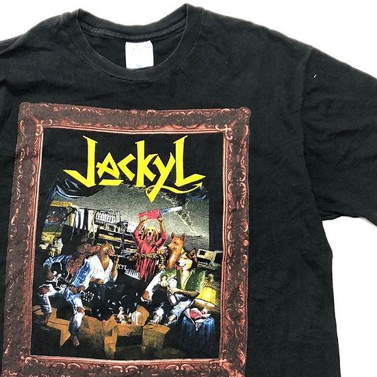 old jackyl band T-shirt / BLK