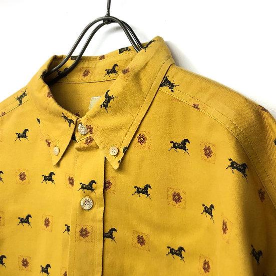 馬 B.D shirt / mustard