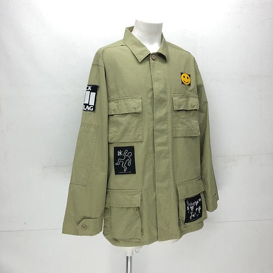 custom rip-stop jacket / BEI