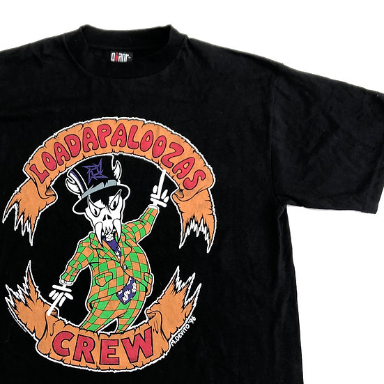old Loadapaloozas band T-shirt  / BLK