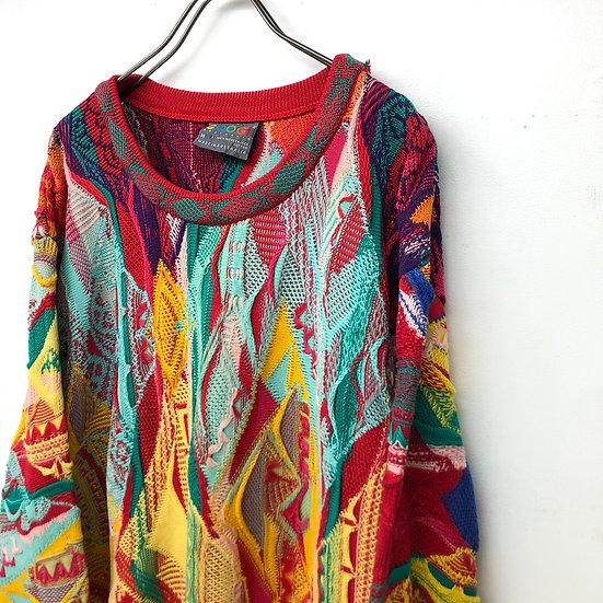 COOGI 3D knit / multi