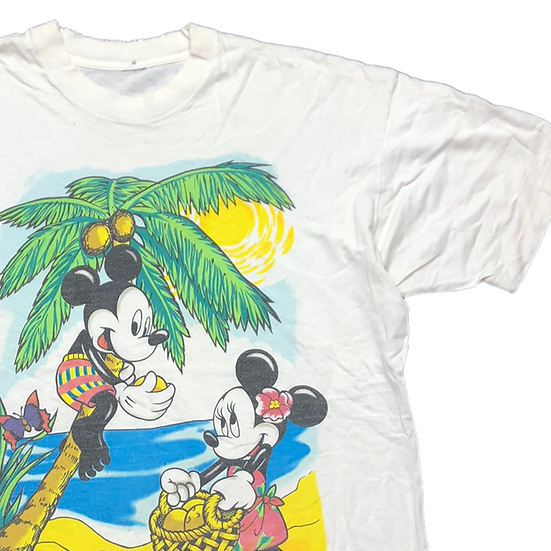 old Mickey T-shirt / WHT