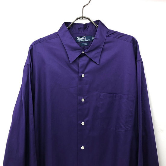 Ralph Lauren plain L/S shirt / PPL