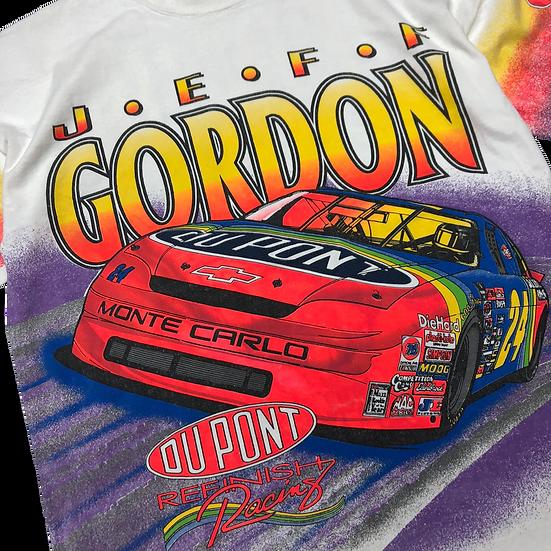 Racing advertising T-shirt / WHT