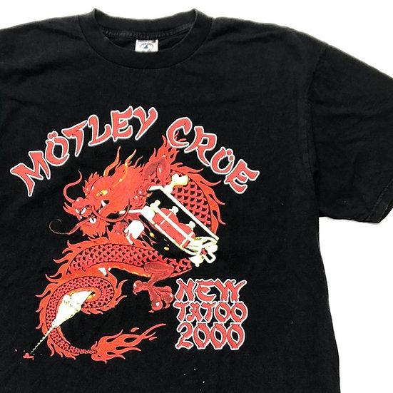 MOTLEY CROE band T-shirt / BLK
