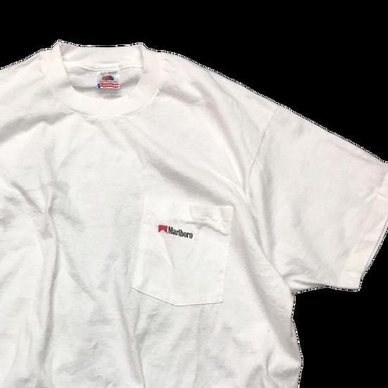 old マルボロ T-shirt / WHT