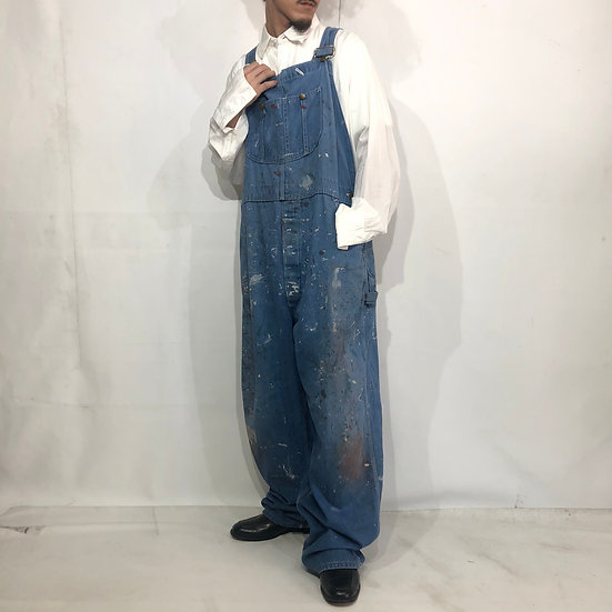 old sears junk overall / BLU