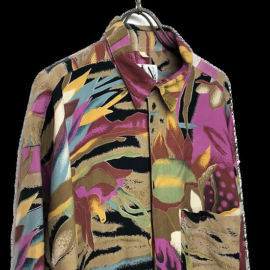 art design shirt / multi