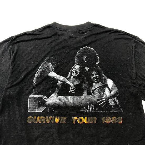 88's Nuclear assault band T-shirt / BLK
