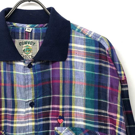 design check shirt / plaid