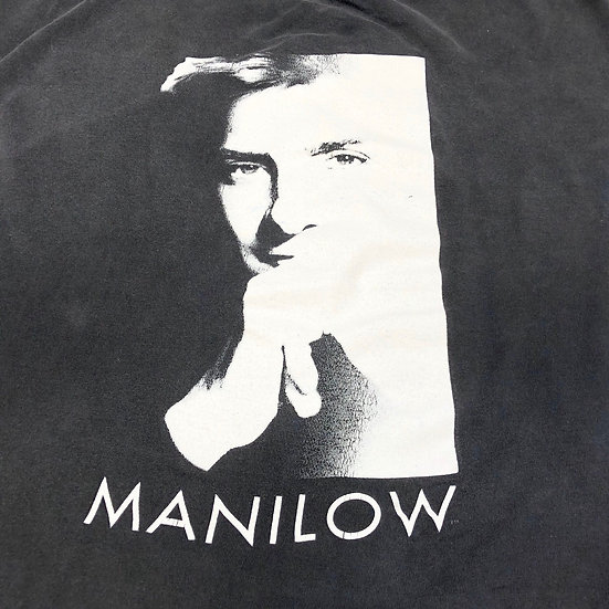 90's Barry manilow band T-shirt / BLK