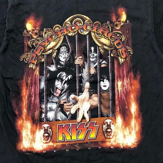 old KISS band T-shirt / BLK