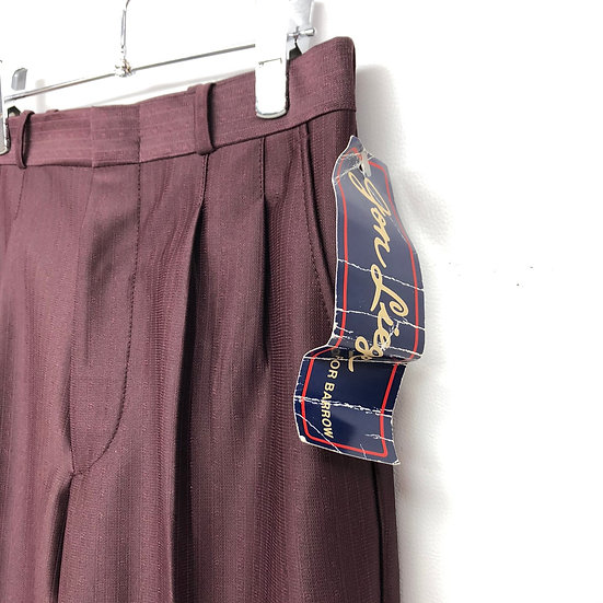 NOS 2tuck slacks / PPL / 美シルエット