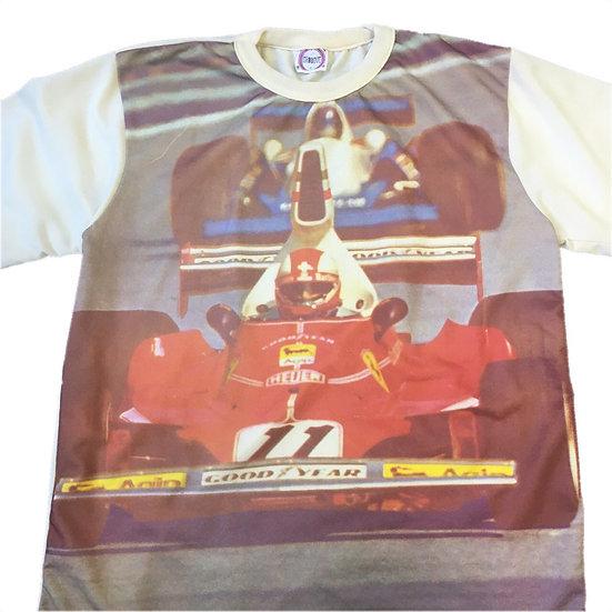 70's 転写 s/s T-shirt / BEI