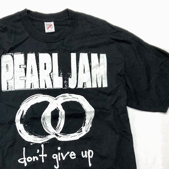 old Pearl jam band T-shirt / BLK