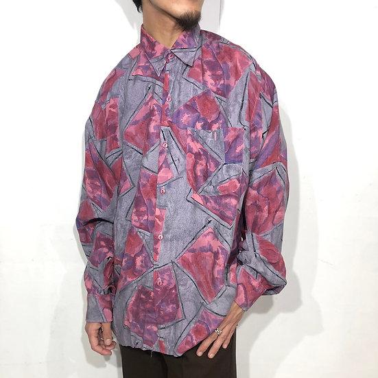 総柄 design shirt / PPL