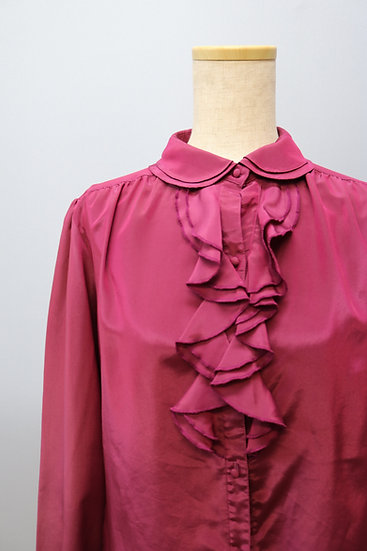 frill design blouse / PPL