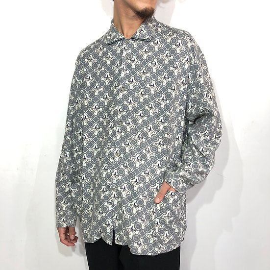 PORLIN design shirt / GRY