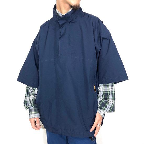 s/s design pullover jacket / NAVY