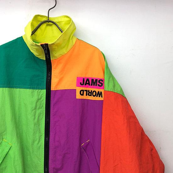old jams world nylon jacket / multi