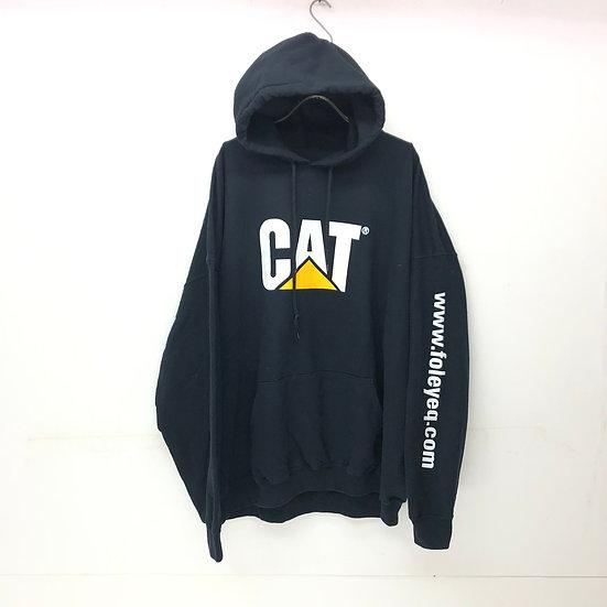 CAT sweat parka / BLK