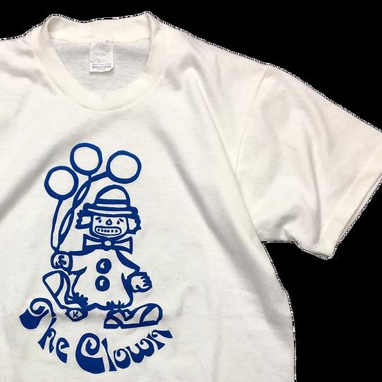 old ピエロ T-shirt / WHT