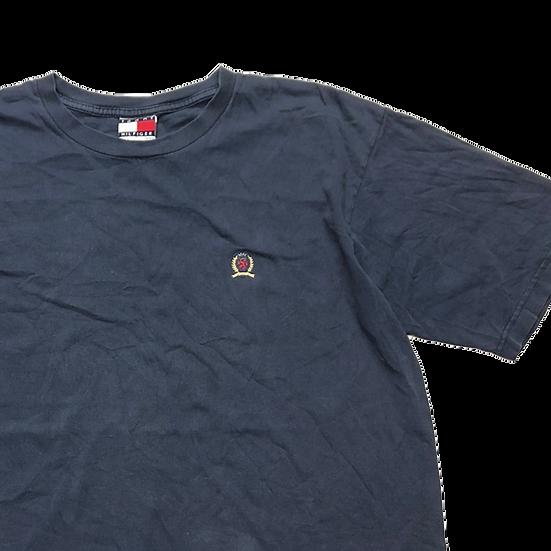 Tommy Hilfiger ワンポイント T-shirt  / NVY