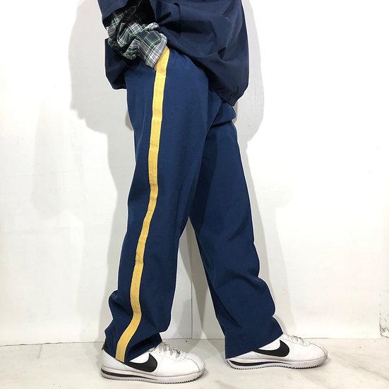 old side line design slacks / NAVY