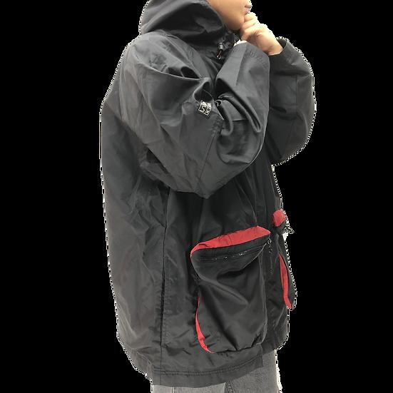 old nike nylon jacket / BLK