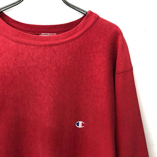 old champion reverse sweave / RED