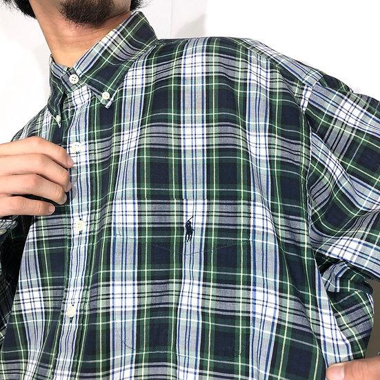 Ralph Lauren tartan check B.D shirt / plaid