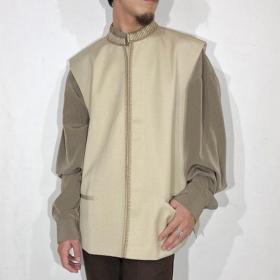 民族調 design vest / BEI