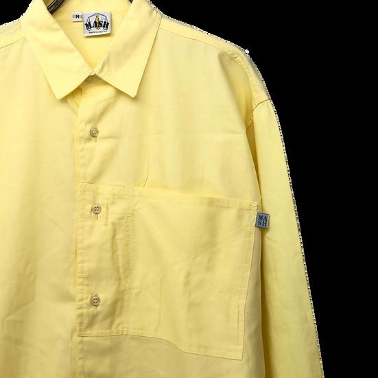Italy design shirt / YEL