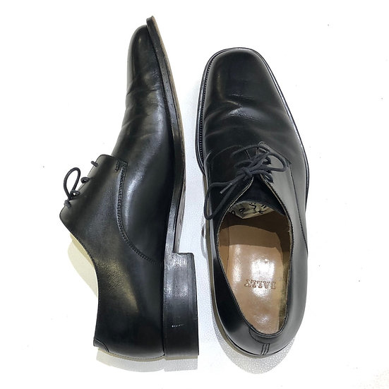 BALLY leather shoes / BLK