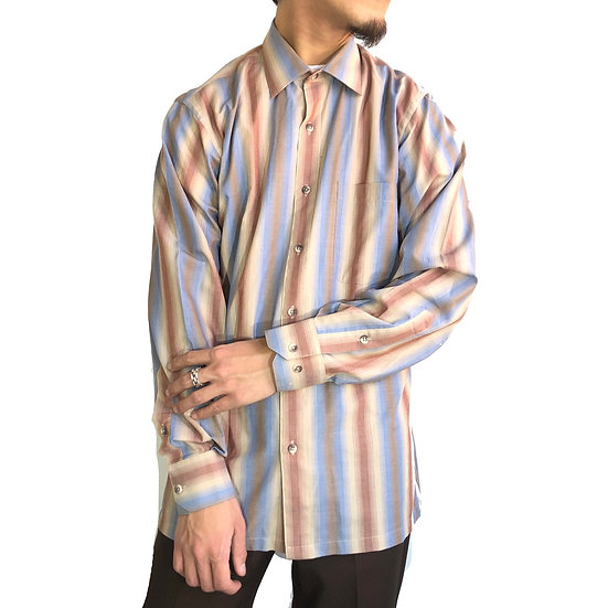 shadow stripe shirt / multi