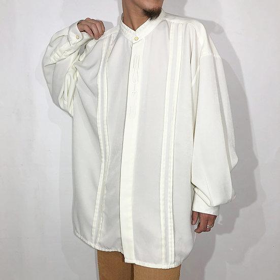 bandcollar design shirt / IVOR