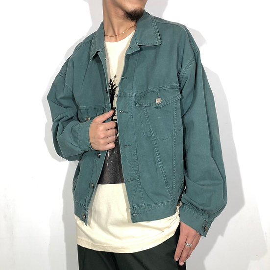 old gap tracker jacket / smoky green