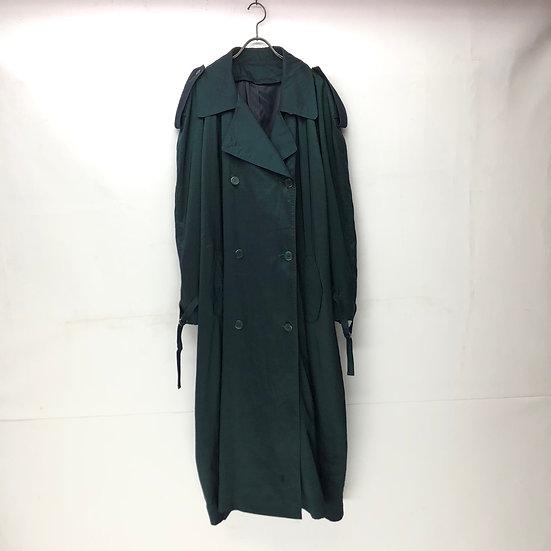 nylon trench coat / GRN