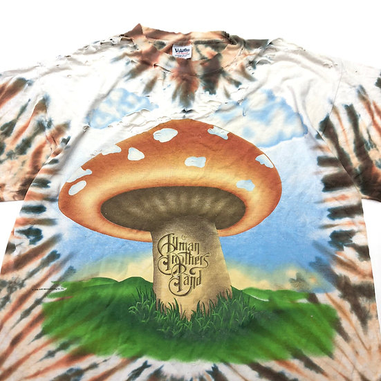 old allman brothers ボロ bandT-shirt  / tie dye