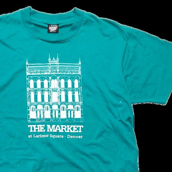 The Market T-shirt  / L.GRN / surreal