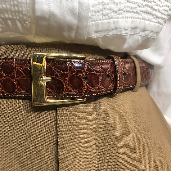 saks fifth avenue design belt / BRN