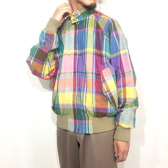 old Ralph lauren swinp top jacket / check