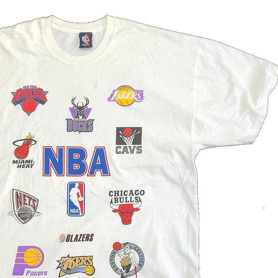 NBA T-shirt  / WHT
