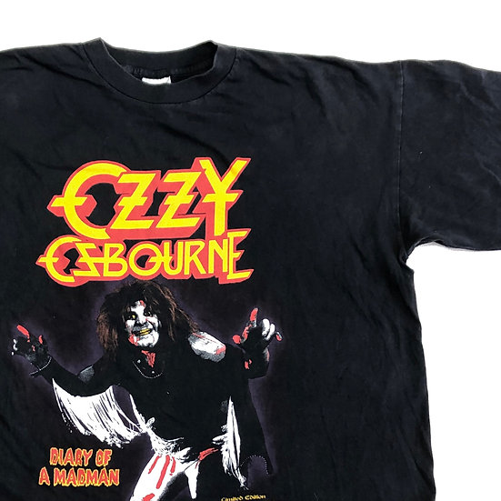 Ozzy band T-shirt  / BLK