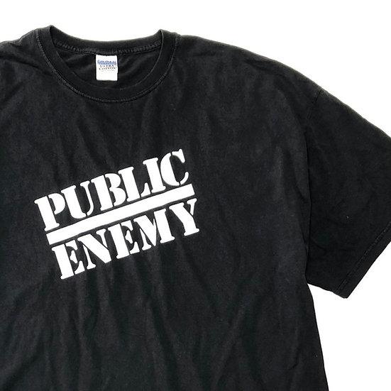 public enemy T-shirt / BLK