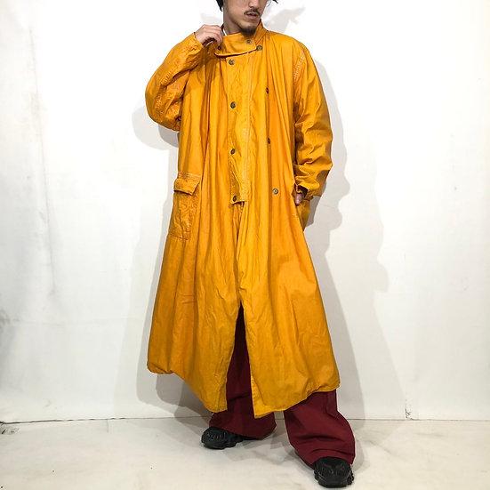 old design coat / mustard