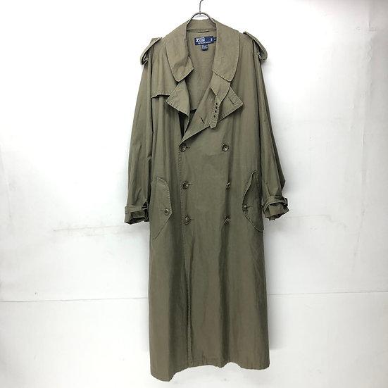 old Ralph Lauren trench coat / KHAKI