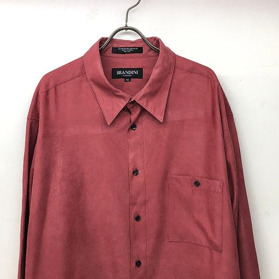 plain shirt / 小豆